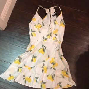 COPY - Forever21 Lemon Print Dress